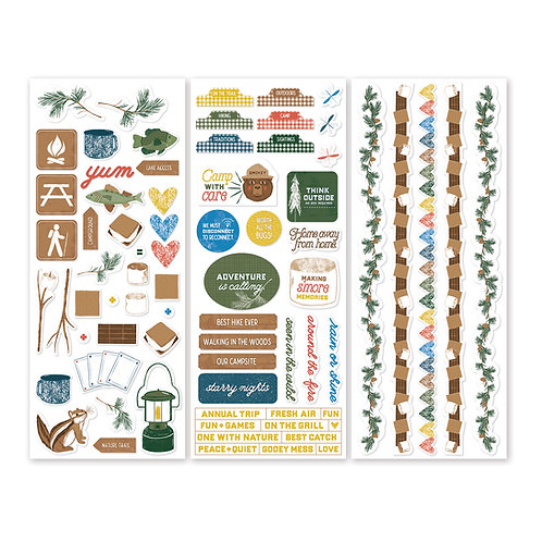 S'more Memories Stickers (3/pk)