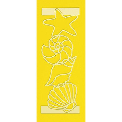 Seashells Overlay Stencil