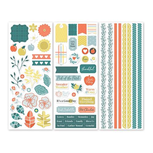 Harvest Delight Stickers (3/pk)