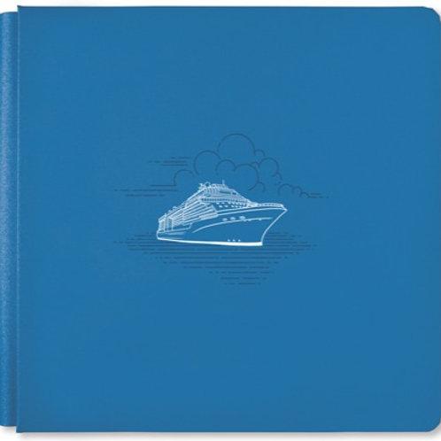Bon Voyage Ocean Blue 12x12 Album Cover