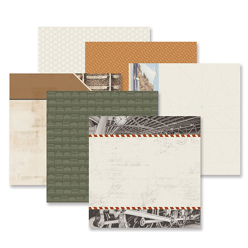 Trains Paper Pack (12pk)