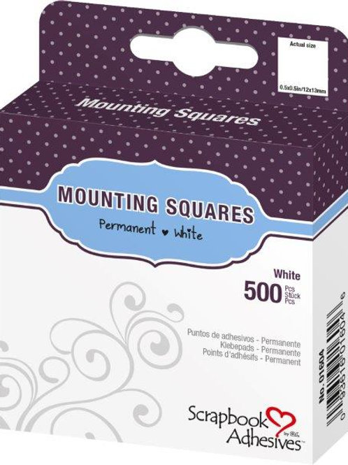 Mounting Squares - Initially Repositionable