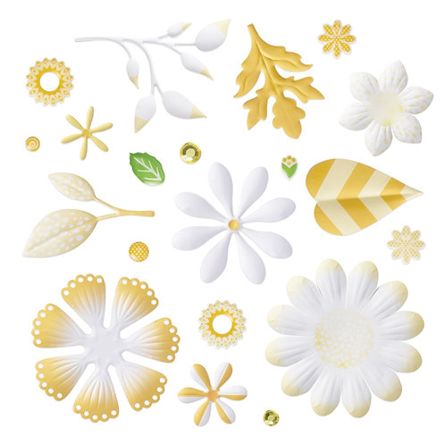 Mix & Match Yellow Bouquet Embellishments