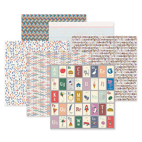 Bookworm 12x12 Paper Pack (12/pk)