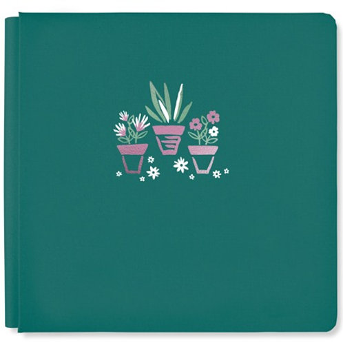 Full Bloom Hunter Green 12x12 Album Cover
