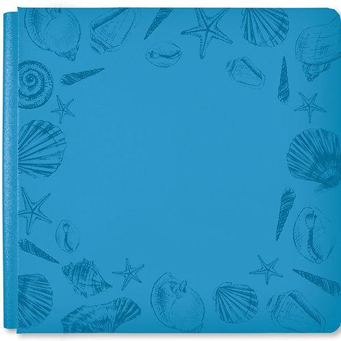 Seaside Ocean Blue 12x12 Album Cover