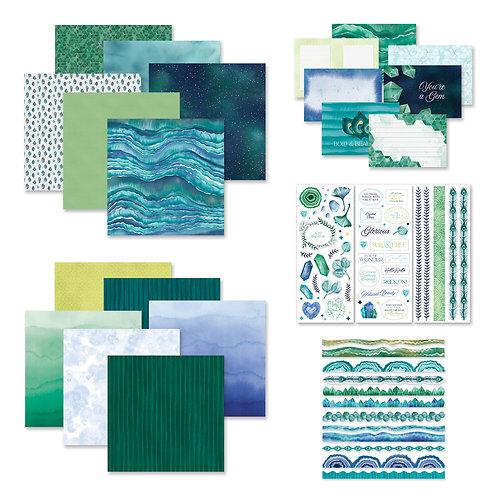 Emerald Gemstone Decorative Bundle