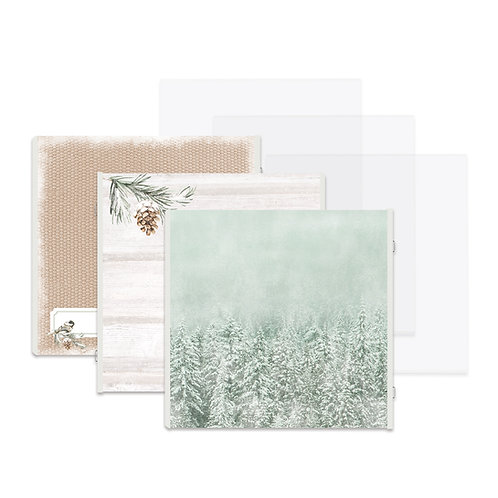 Winter Woods Fast2Fab™ 12x12 Refill Pages and Protectors