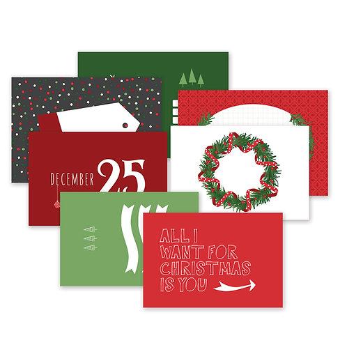Merry Little Christmas Variety Mat Pack
