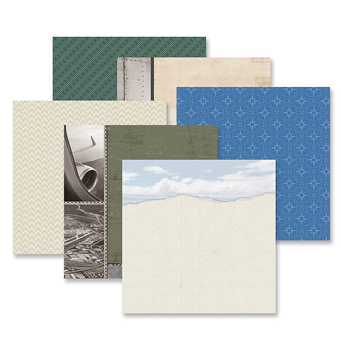 Planes Paper Pack (12pk)