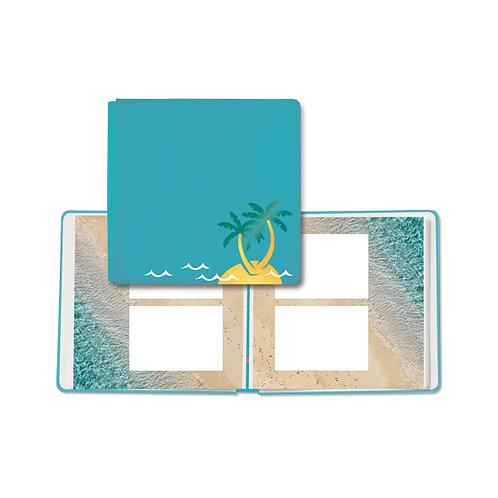 Sun-Kissed Travel 12x12 Fast2Fab™ Album (Bookcloth)
