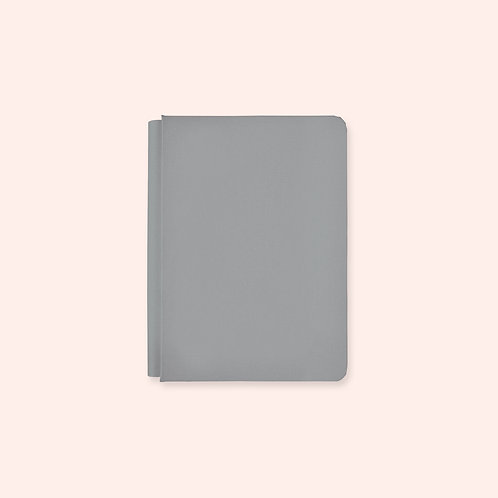 6.75x10 Happy Album Pewter Grey Album Cover