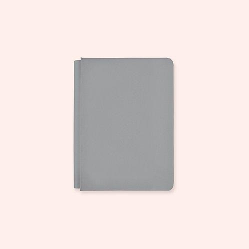 6.75x10 Happy Album Pewter Grey Album Cover
