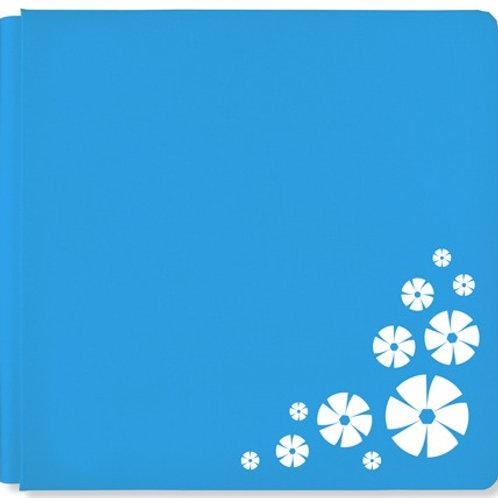 Scrap Happy CM Blue 12x12 Album Cover