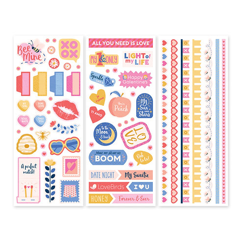Bee Mine Stickers (3/pk)