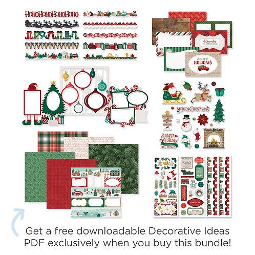 Christmas Spirit Decorative Bundle