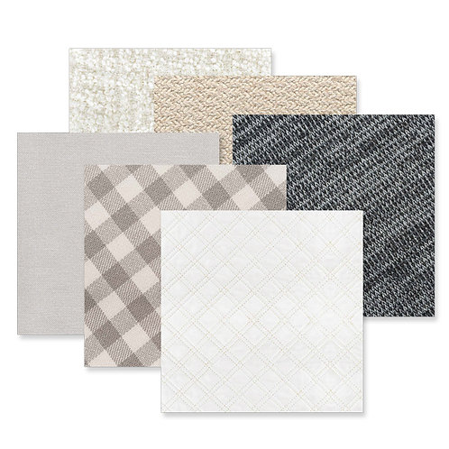 Cloth 12x12 Paper Pack (12/pk)