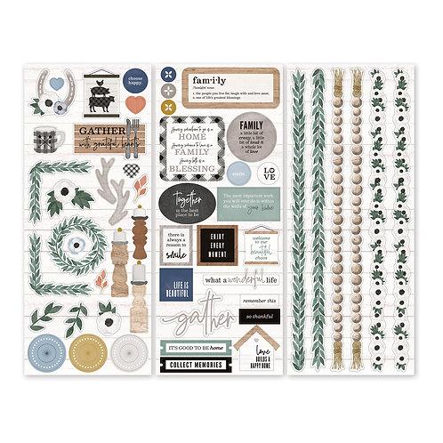 Homestead Stickers (3/pk)