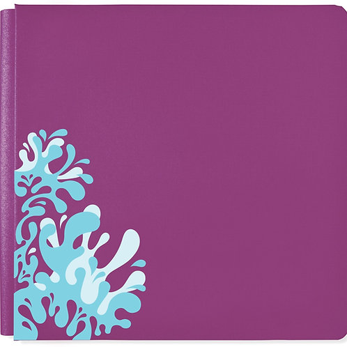 Electric Summer Vivid Violet 12x12 Album Cover