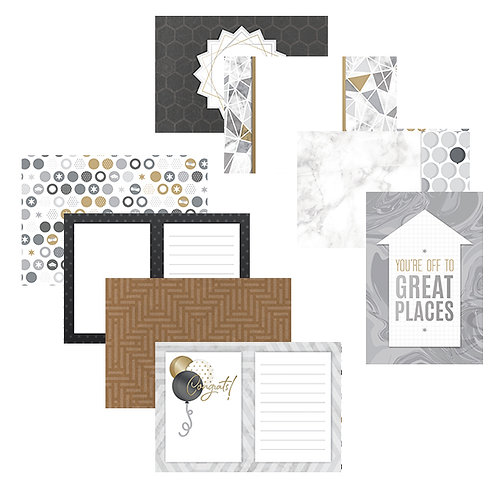 Cap & Gown Variety Mat Pack