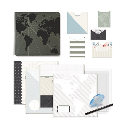 Travel Log Fast2Fab 12x12 Bundle
