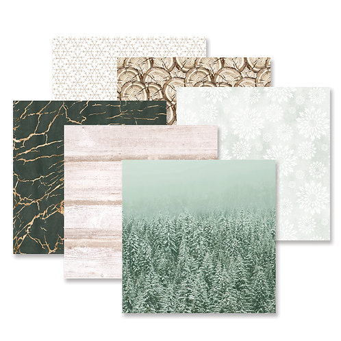 Winter Woods Paper Pack (12pk)