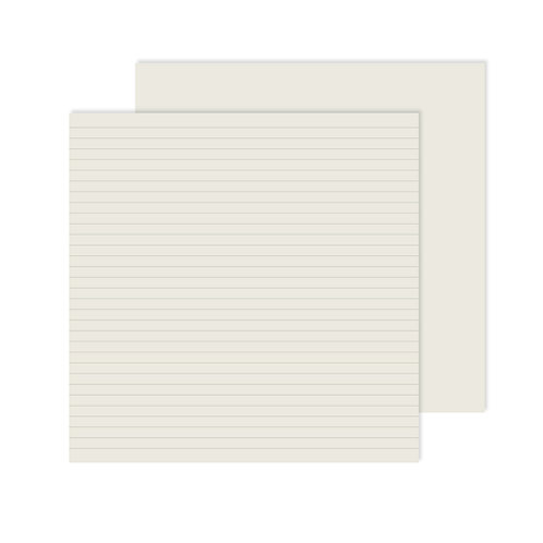 Spargo Lined Paper Pack (12pk)