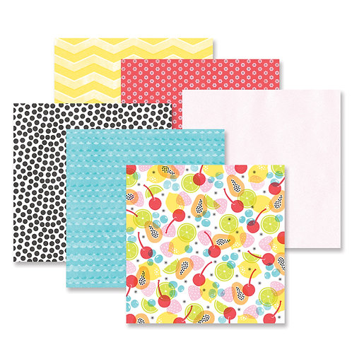Citrus Summer Paper Pack (12/pk)