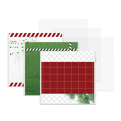 Merry Little Christmas Fast2Fab™ Refill Pages and Protectors