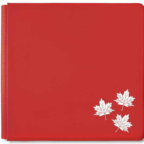 True North Album Rose Red 12x12 Album Cover