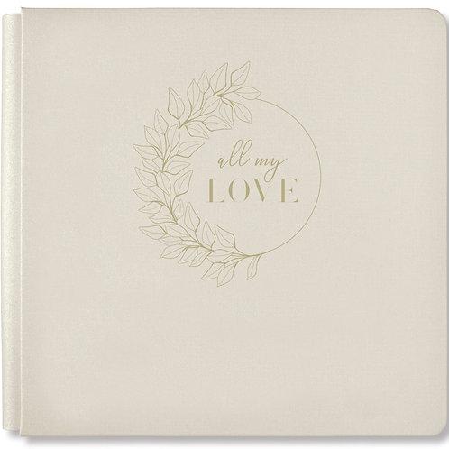 All My Love Pebble Grey 12x12 Album Cover