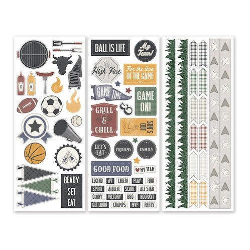Fanatic Stickers (3/pk)