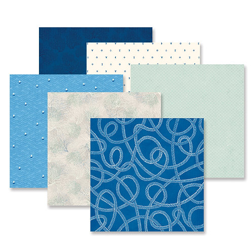 Deep Blue Sea Paper Pack (12/pk)