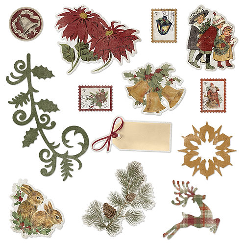 Christmas Past Embellishments