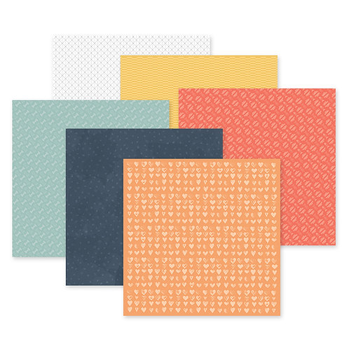 Fur Buddies 12x12 Paper Pack (12/pk)
