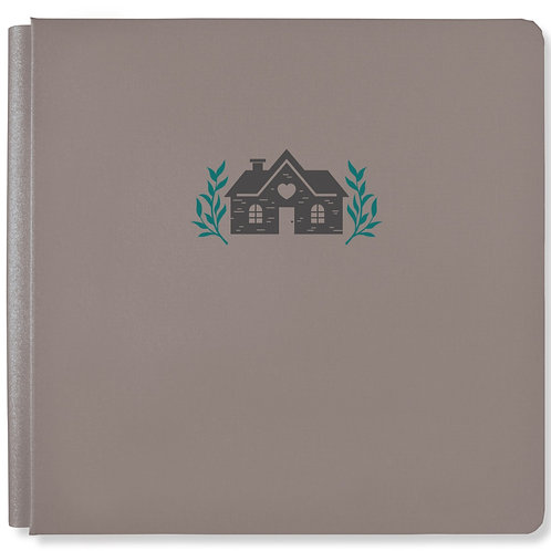 Homestead Mocha 12x12 Album Cover