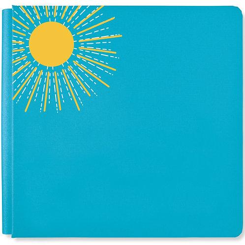 Summertime Poppy Blue 12x12 Album Cover