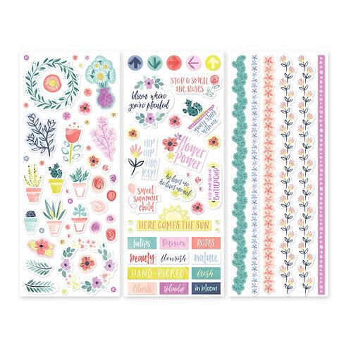 Full Bloom Stickers (3/pk)