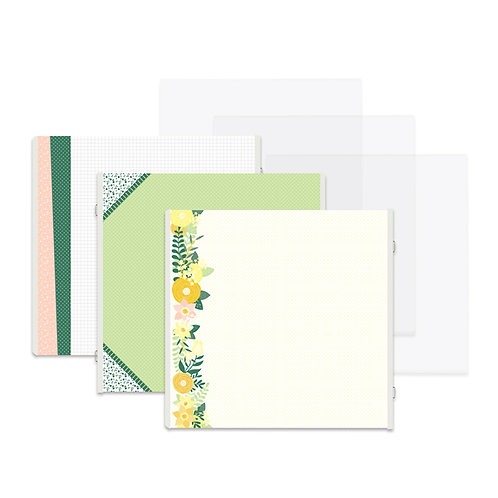 Simply Sunshine Fast2Fab™ 12x12 Refill Pages and Protectors
