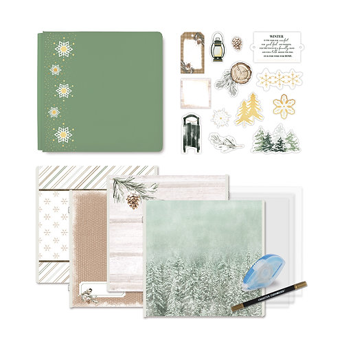 Winter Woods Fast2Fab™ 12x12 Bundle