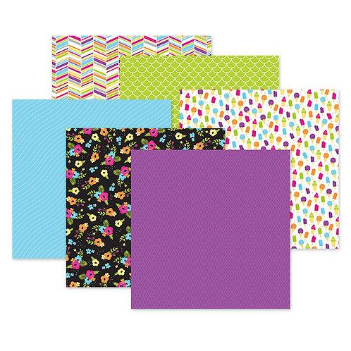 Slice of Summer 12x12 Paper Pack (12/pk)