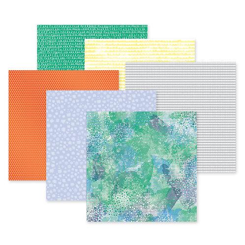 Sorbet 12x12 Paper Pack (12/pk)