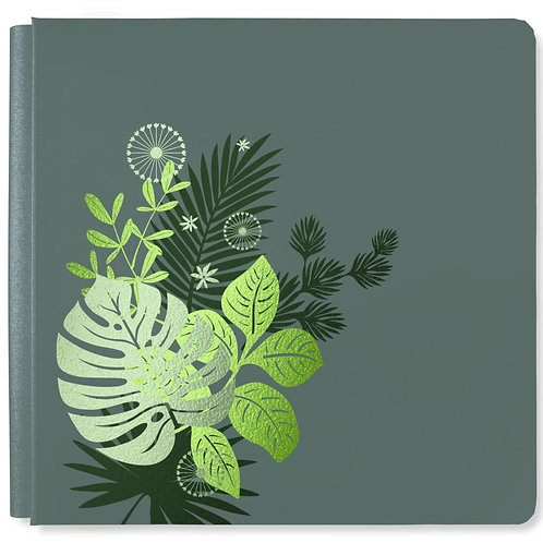 Boho Escape Stone Green 12x12 Album Cover