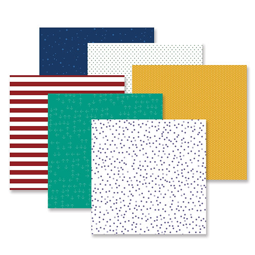 Fresh Fusion Bold Paper Pack (12pk)