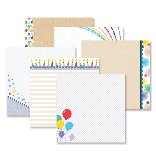 Party Time Fast2Fab™ - Inspired Designer Paper Pack (12/pk) - Pre-Order