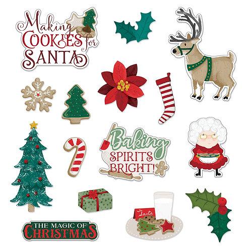 Christmas Spirit Embellishments