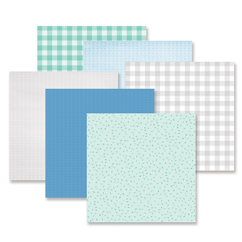 Spring Medley Tone-on-Tone Paper Pack (12/pk)
