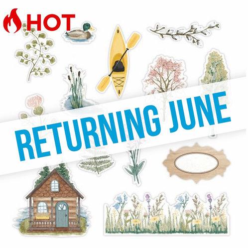 Spring Cottage Embellishments - Pre-Order