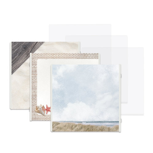 Seaside Fast2Fab™ 12x12 Refill Pages and Protectors