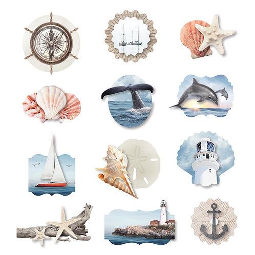 Seaside Layered Embellishments